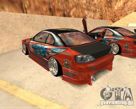 Nissan Silvia S15 Ms Sports для GTA San Andreas вид слева