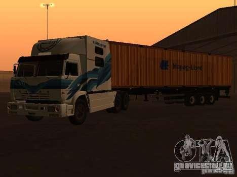 КамАЗ 54112 РИАТ для GTA San Andreas