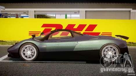 Pagani Zonda F для GTA 4 вид изнутри