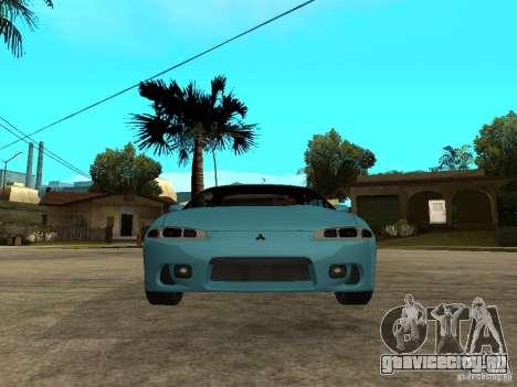 Mitsubishi Eclipse 1998 Need For Speed Carbon для GTA San Andreas вид справа
