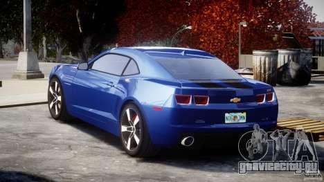 Chevrolet Camaro v1.0 для GTA 4 вид сзади слева