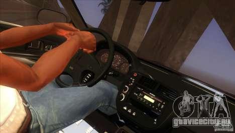 Honda Civic SI для GTA San Andreas салон