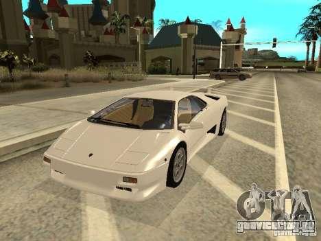 Lamborghini Diablo VT 1995 V2.0 для GTA San Andreas