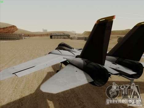 F-14 Tomcat Warwolf для GTA San Andreas вид справа