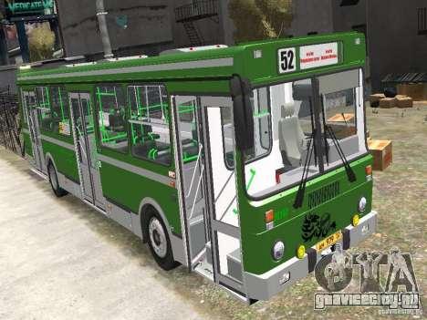 ЛиАЗ 5256.25 для GTA 4 вид справа