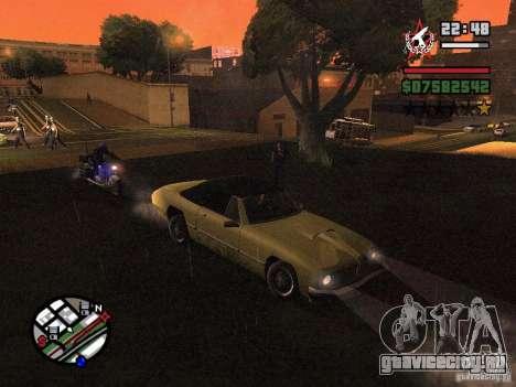 ENBSeries для GForce 5200 FX v3.0 для GTA San Andreas второй скриншот
