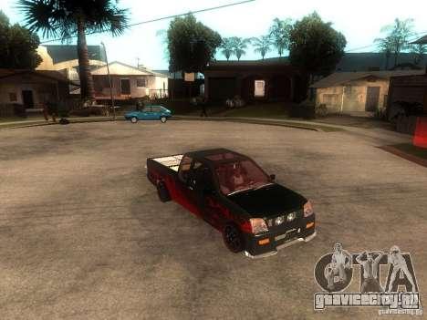 Isuzu D-Max для GTA San Andreas вид справа