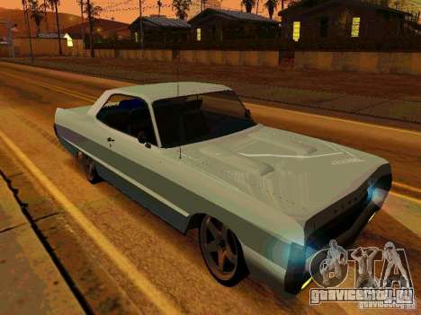 Plymouth Fury Sport 1970 для GTA San Andreas