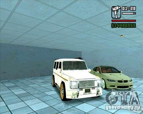 Mercedes Benz G500 Dub Edition для GTA San Andreas вид сзади