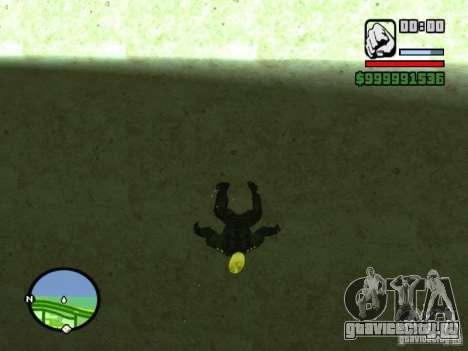 Ghost Ryder Skin для GTA San Andreas третий скриншот