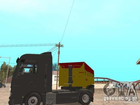 Прицеп BODEX для GTA San Andreas вид сзади