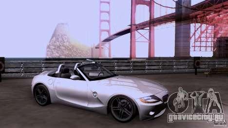BMW Z4 V10 для GTA San Andreas