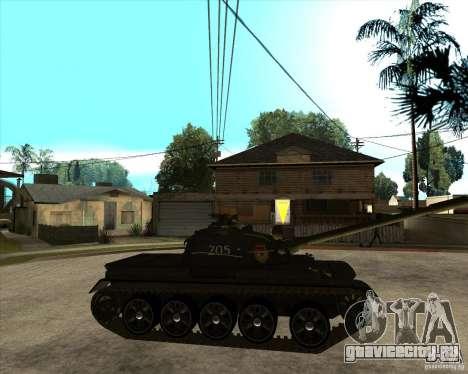Т-55 для GTA San Andreas вид справа