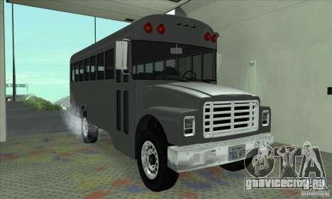 Civil Bus для GTA San Andreas вид слева