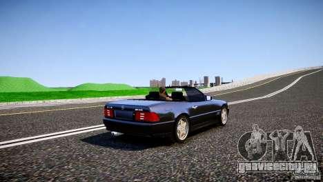 Mercedes SL 500 AMG 1995 для GTA 4 вид справа