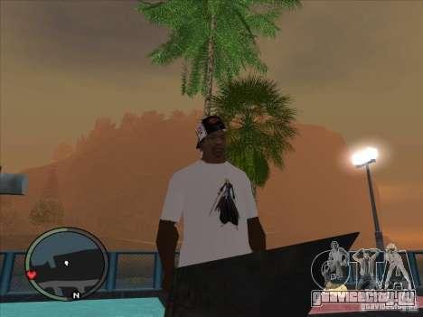 Bleach t-shirt для GTA San Andreas второй скриншот