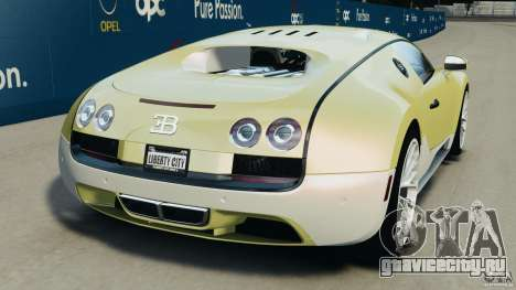 Bugatti Veyron 16.4 Super Sport 2011 v1.0 [EPM] для GTA 4 вид сзади слева