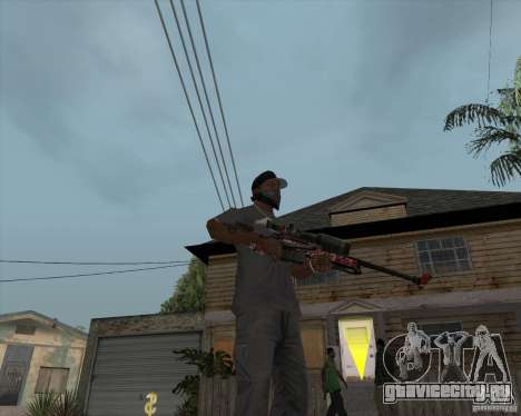 Accuracy International L96A1 для GTA San Andreas второй скриншот