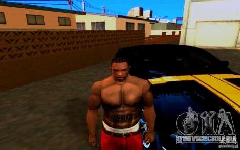 Slipknot tatoo для GTA San Andreas второй скриншот