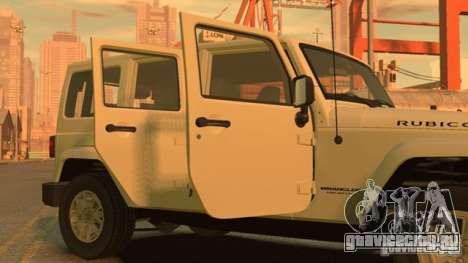 Jeep Wrangler Unlimited Rubicon 2013 для GTA 4 вид слева