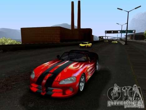 Dodge Viper SRT-10 Custom для GTA San Andreas вид снизу