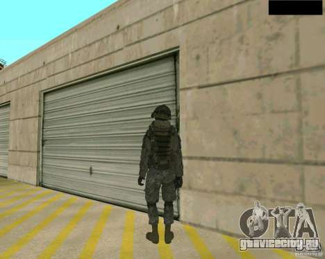 Скин солдата из CODMW 2 для GTA San Andreas третий скриншот