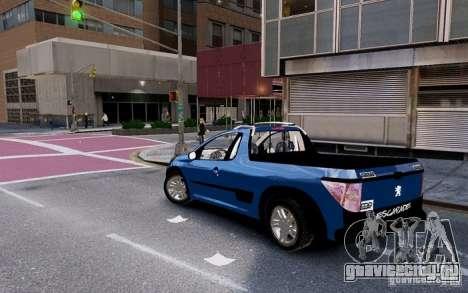 Peugeot Hoggar Escapade для GTA 4 вид слева