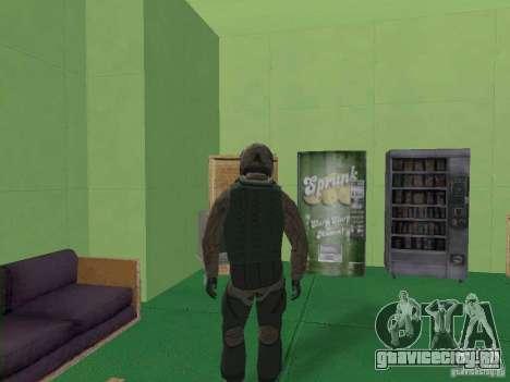 Военный пилот для GTA San Andreas третий скриншот
