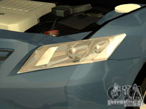 Toyota Camry 2009 для GTA San Andreas вид сбоку