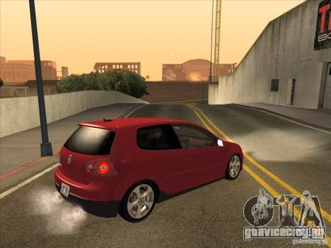 VW Golf Mk5 GTi - Stock: Tunable для GTA San Andreas вид справа