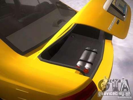 Ford Falcon для GTA San Andreas вид сверху