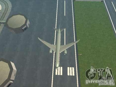 Boeing 787 Dreamliner Air Canada для GTA San Andreas вид сверху
