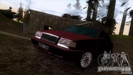 Volvo 850 Final Version для GTA San Andreas вид сверху