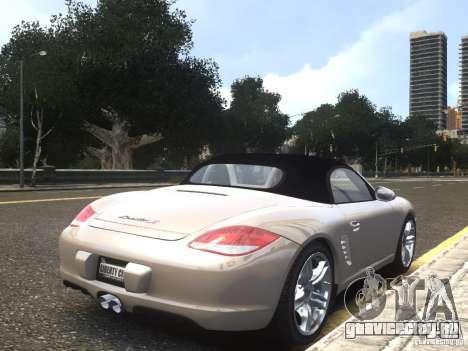 Porsche Boxster S 2010 EPM для GTA 4 вид слева