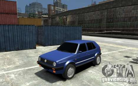 Volkswagen Golf II Country 1990 для GTA 4