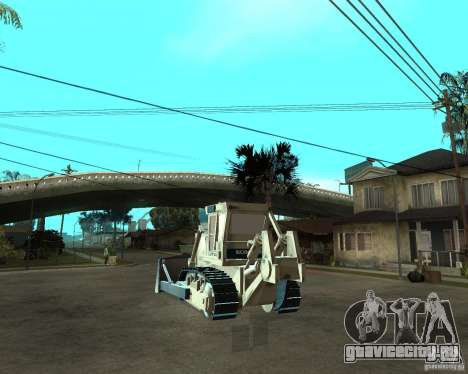 Komatsu D355A для GTA San Andreas вид сзади слева