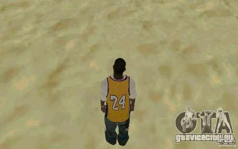 Afro-American HD skin для GTA San Andreas третий скриншот