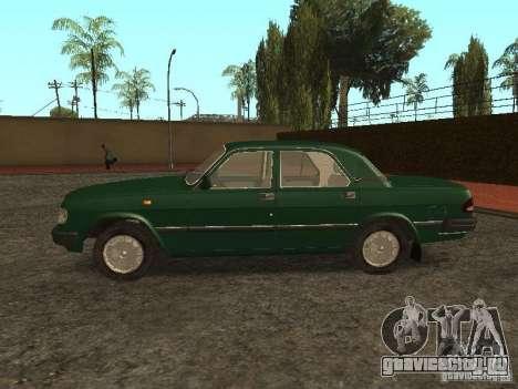 ГАЗ 3110 v.2 для GTA San Andreas вид слева