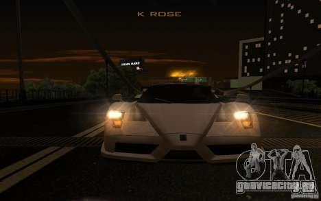 Ferrari Enzo ImVehFt для GTA San Andreas вид сбоку