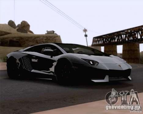 Lamborghini Aventador LP700-4 2011 для GTA San Andreas вид сбоку