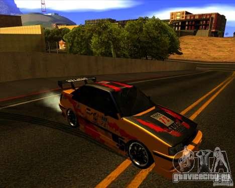 GTA VI Futo GT custom для GTA San Andreas вид сзади