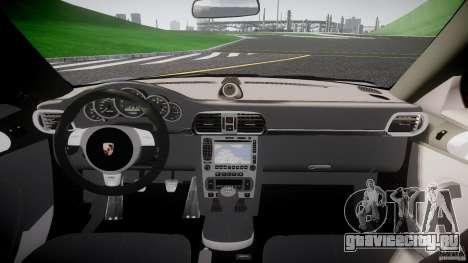 Porsche GT3 997 для GTA 4 вид сверху