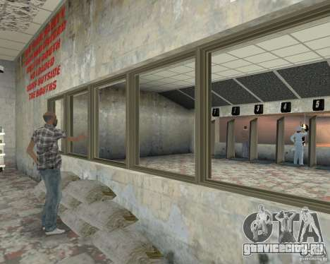 Оживлённый магазин Ammu-Nation v3 (Final) для GTA San Andreas четвёртый скриншот