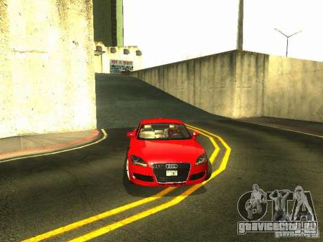 Audi TT 2009 v2.0 для GTA San Andreas вид сверху