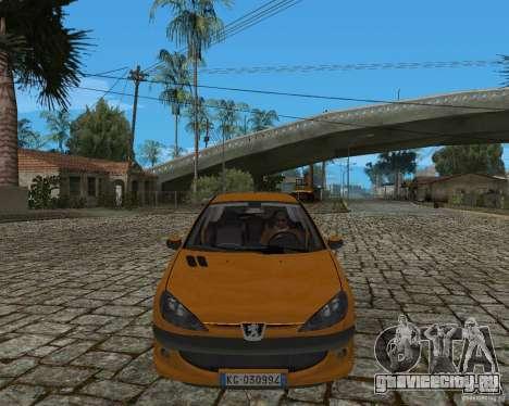 Peugeot 306 для GTA San Andreas вид сзади слева