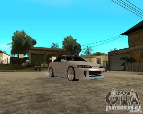 Honda Integra TUNING для GTA San Andreas вид изнутри