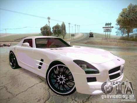Mercedes-Benz SLS AMG 2010 Hamann Design для GTA San Andreas вид справа