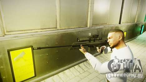 Barrett 98B (снайперка) для GTA 4 второй скриншот