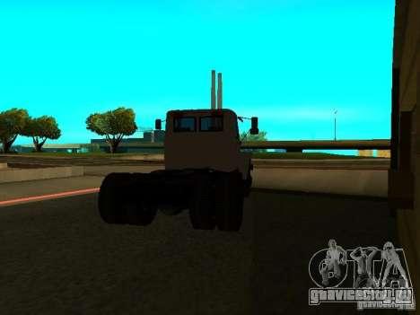 ГАЗ 3309 седельный тягач для GTA San Andreas вид сзади слева