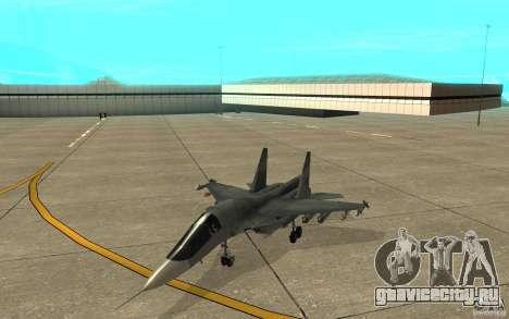 Су-34 для GTA San Andreas вид слева